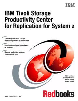 IBM Tivoli Storage Productivity Center for Replication for System z