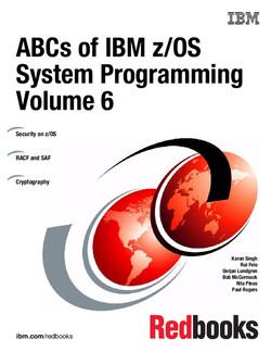ABCs of IBM z/OS System Programming Volume 6