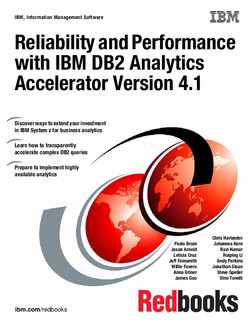 Reliability and Performance with IBM DB2 Analytics Accelerator V4.1