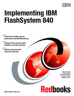 Implementing IBM FlashSystem 840
