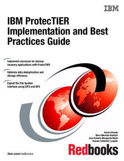 IBM ProtecTIER Implementation and Best Practices Guide