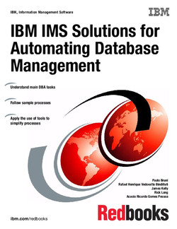 IBM IMS Solutions for Automating Database Management