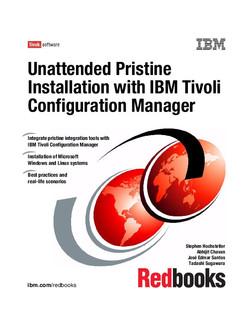 Unattended Pristine Installation with IBM Tivoli Configuration Manager