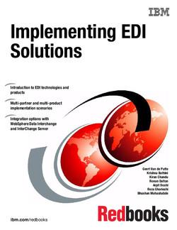 Implementing EDI Solutions
