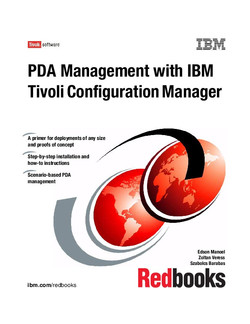PDA Management with IBM Tivoli Configuration Manager