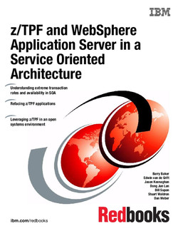 z/TPF and WebSphere Application Server in a Service Oriented Architecture