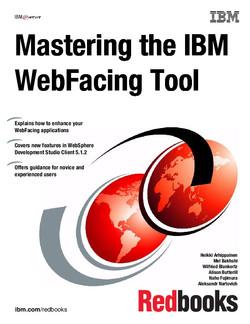 Mastering the IBM WebFacing Tool