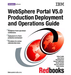 WebSphere Portal V5.0 Production Deployment and Operations Guide