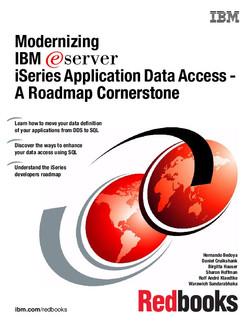 Modernizing IBM eServer iSeries Application Data Access - A Roadmap Cornerstone