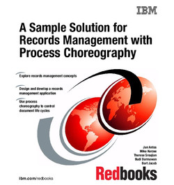 A Sample Solution for Records Management with Process Choreography