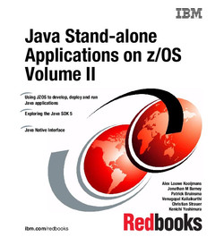 Java Stand-alone Applications on z/OS Volume II