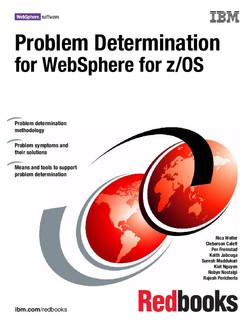 Problem Determination for WebSphere for z/OS