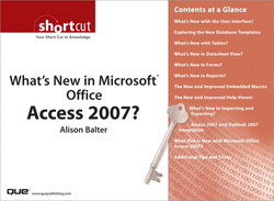 What's New in Microsoft® Office Access 2007?