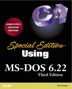 Special Edition Using MS-DOS® 6.22, Third Edition