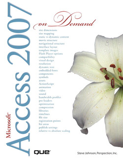 Microsoft® Office Access 2007 on Demand