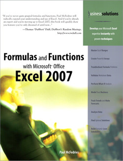 Business Solutions Formulas and Functions with Microsoft® Office Excel 2007