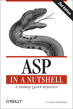 ASP in a Nutshell, 2nd Edition