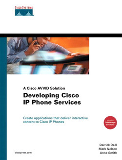 Developing Cisco IP Phone Services: A Cisco AVVID Solution