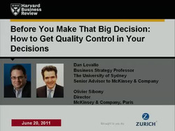Before You Make That Big Decision
