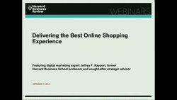 Delivering the Best Online Shopping Experience