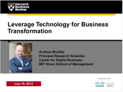 Leverage Technology for Business Transformation