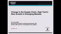 Change in the Supply Chain: High Tech's New Growth in Emerging Markets