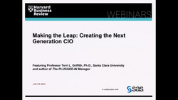 Making the Leap: Creating the Next Generation CIO