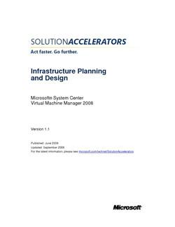 Microsoft System Center Virtual Machine Manager 2008