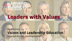 Leaders with Values