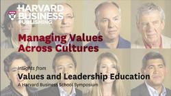 Managing Values Across Cultures