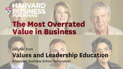The Most Overrated Value in Business