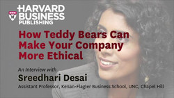 How Teddy Bears Can Make Your Company More Ethical