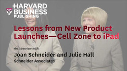Lessons from New Product Launches--Cell Zone to iPad