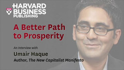 A Better Path to Prosperity