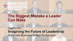 The Biggest Mistake a Leader Can Make