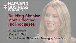 Building Simpler, More Effective HR Processes