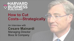 How to Cut Costs--Strategically