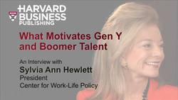 What Motivates Gen Y and Boomer Talent