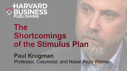 The Shortcomings of the Stimulus Plan