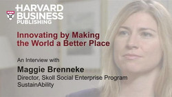 Innovating by Making the World a Better Place