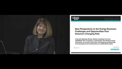New Perspectives on the Energy Business: Challenges and Opportunities from America's Changing Role