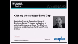 Closing the Strategy-Sales Gap