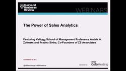 The Power of Sales Analytics