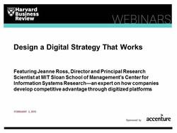Design a Digital Strategy That Works