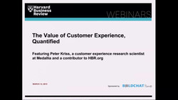 The Value of Customer Experience, Quantified
