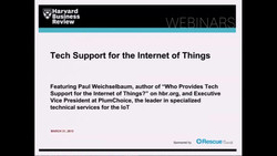 Tech Support for the Internet of Things