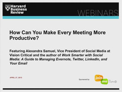 How Can You Make Every Meeting More Productive?