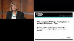 The Analytics of Things: Finding Value in the New World of IoT Data