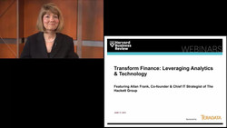Transform Finance: Leveraging Analytics & Technology