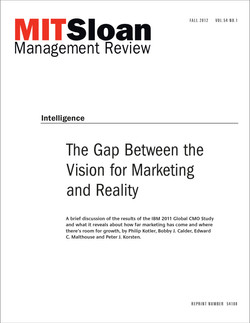 The Gap Between the Vision for Marketing and Reality